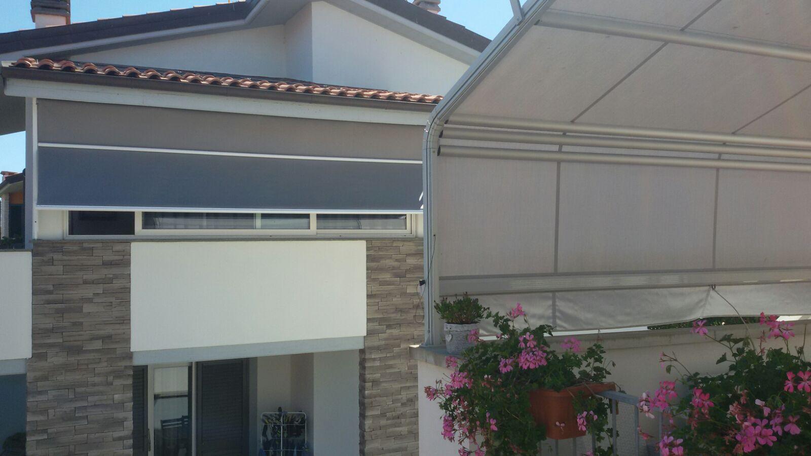 copertura esterna per terrazzo