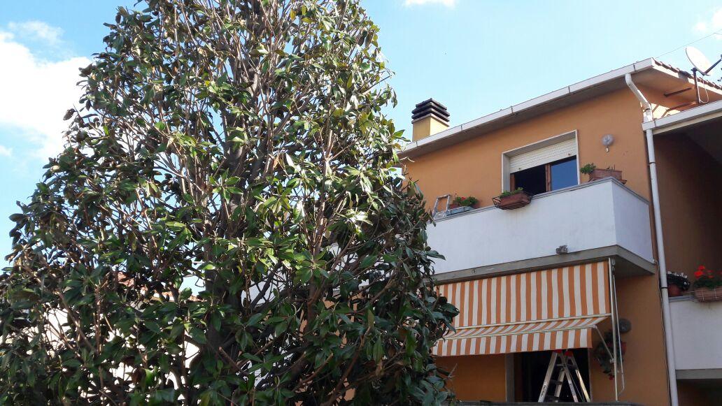 cambio telo su tenda sole per balcone
