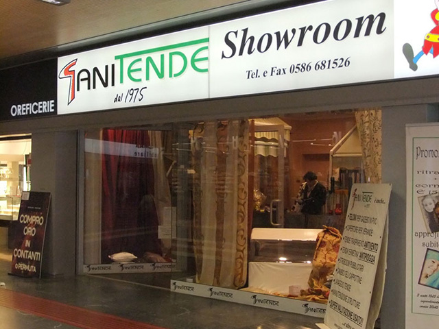 Showroom Piombino Gani Tende