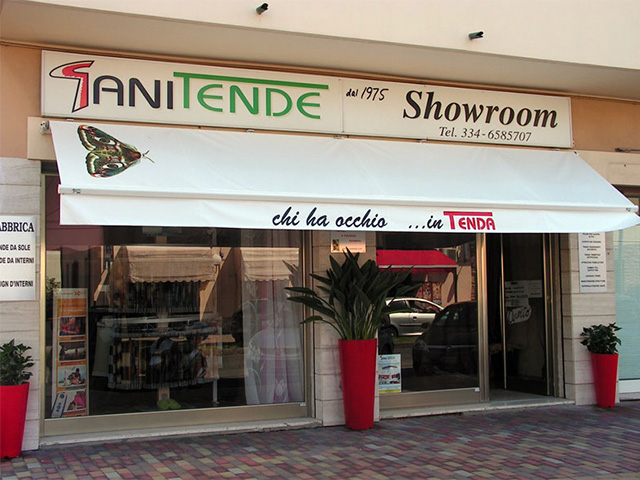 Showroom S. Vincenzo Gani Tende