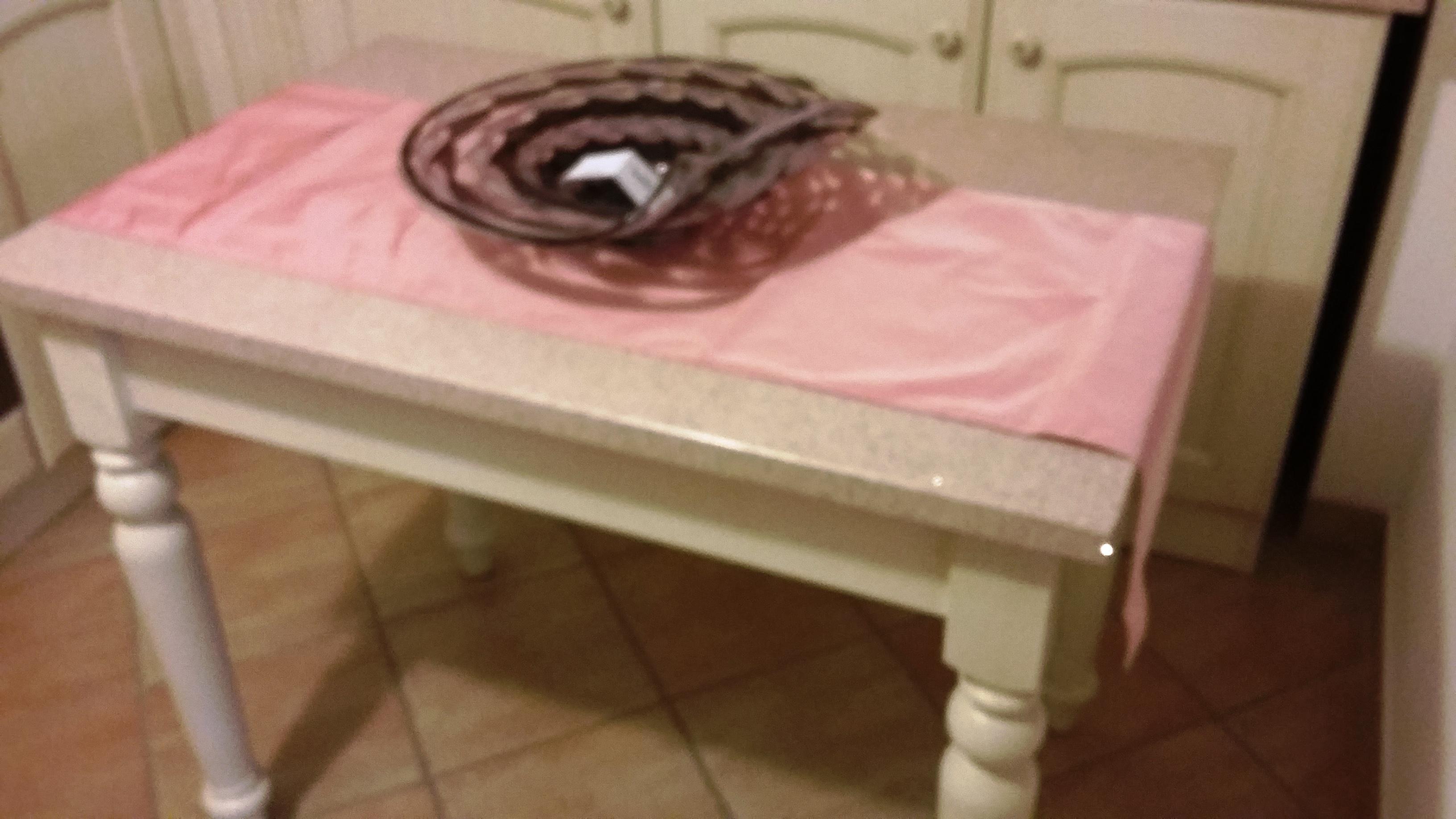 runner per tavolo rosa