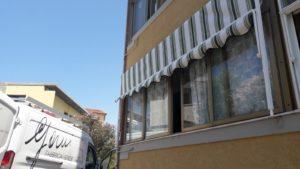 tenda a caduta a righe per finestra <b>RIF: TS25</b>