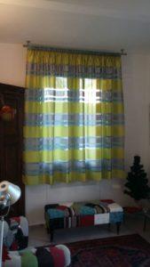 tenda corta su bastone a soffitto <b>RIF: TC136</b>
