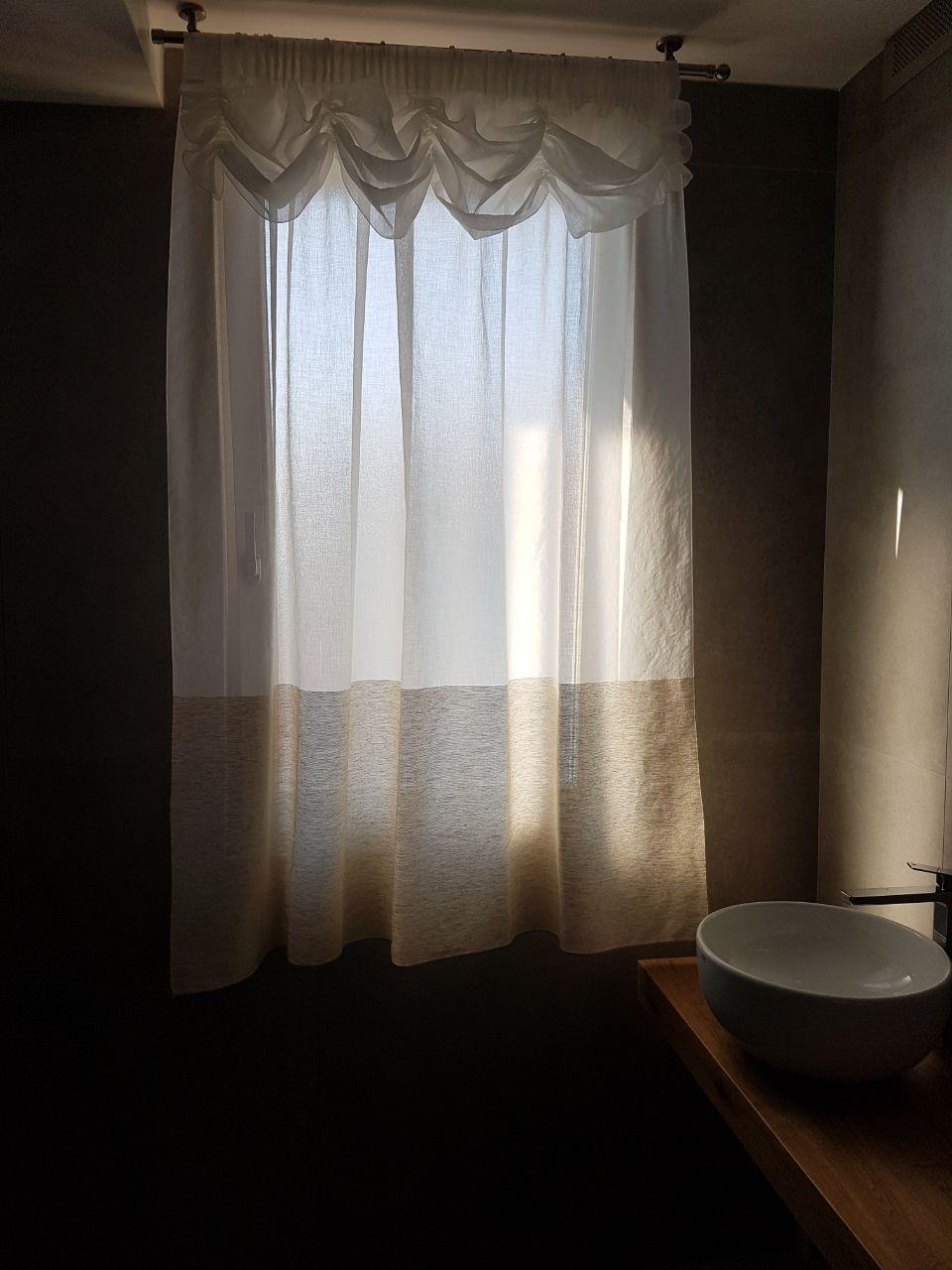 Tende per interni su misura e senza intermediari gani tende - Tende per bagno a vetro ...