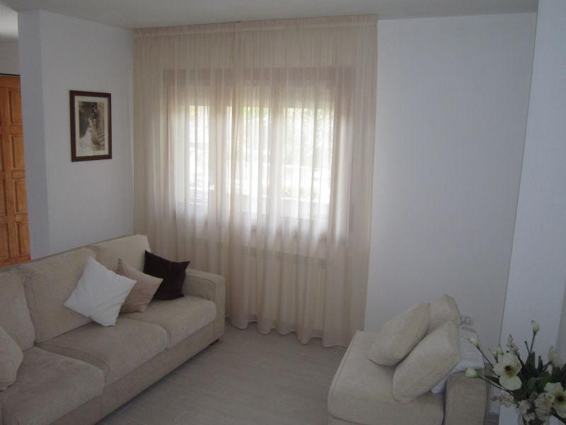 tende classiche bianche per sala <b>RIF: TC300</b>
