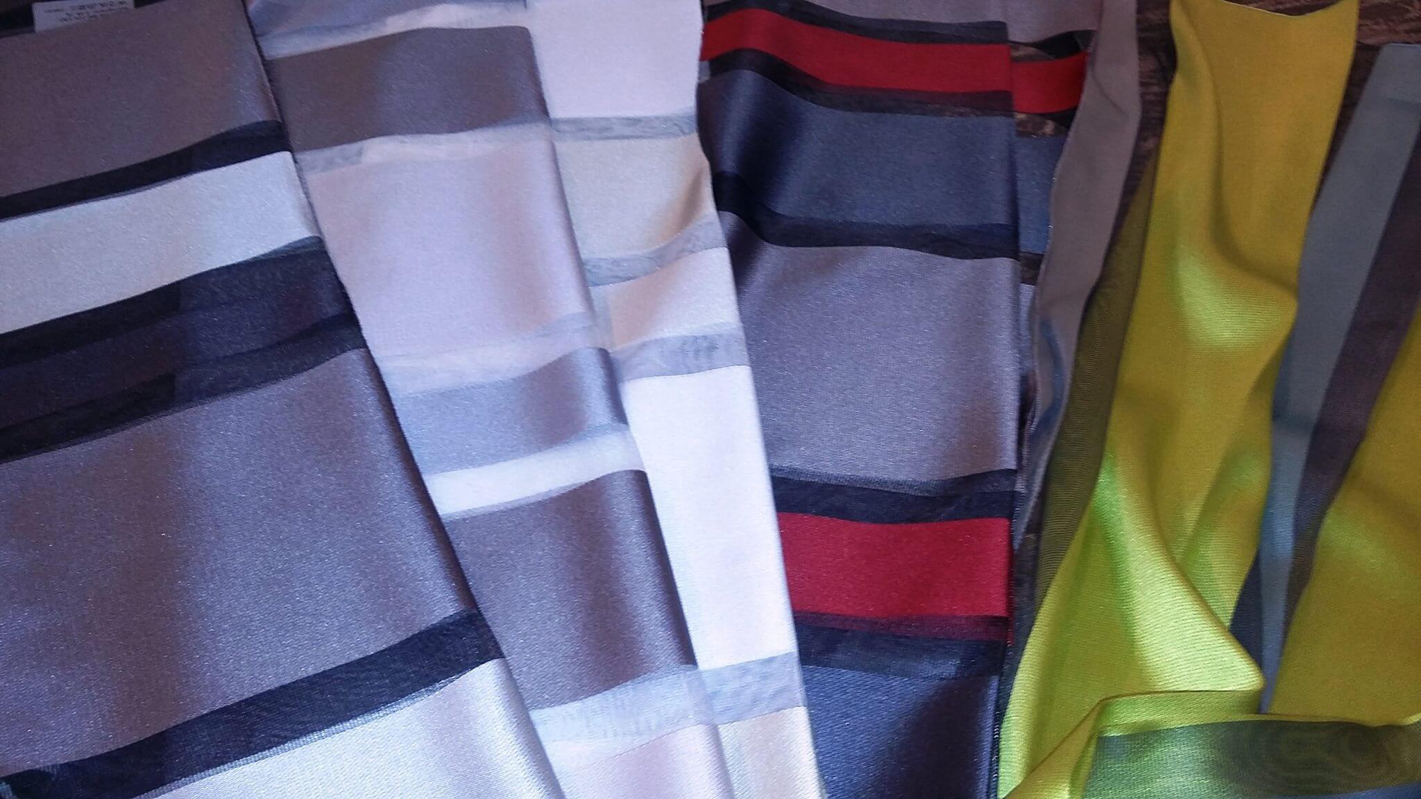 tessuti a righe capricci per tende interni