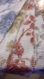 tessuti da arredo in misto lino stampati a mano <b>RIF: TR5</b>