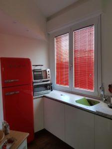 veneziane a vetro color rosso lacca <b>RIF: TC48</b>