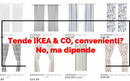 Tende da sole tende per interni e tessuti per for Ikea tende da sole