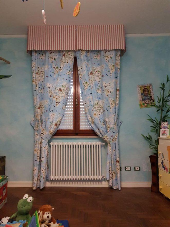 Modelli di tende per interni descrizione e foto di modelli di tende - Tende per cucina con mantovana ...