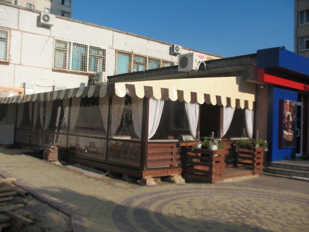 chiusura ermetica in pvc per ristorante