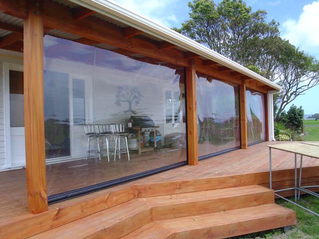 chiusura ermetica su struttura in legno