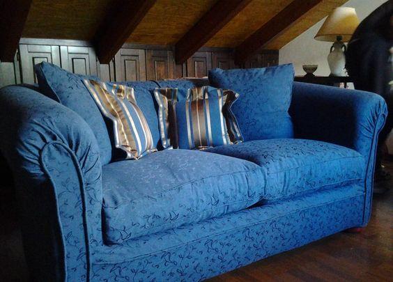 rivestimento divano sfoderabile e cuscini <b>RIF: CA58</b>
