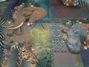 stoffa da interni con stampa animalier <b>RIF: TR104</b>