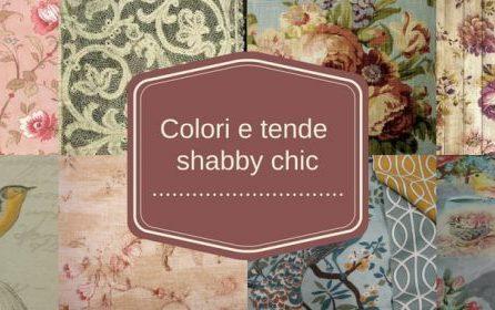 Colori, Tessuti e Tende Shabby Chic,<br> Gustavian Chic e Country Chic