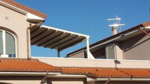 pergola su terrazza in toscana <b>RIF: SE2</b>