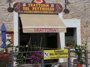 tenda a bracci per ingresso di ristorante in toscana <b>RIF: TS236</b>