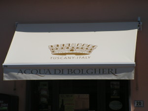 tenda per negozio a bolgheri, fraz. di castagneto carducci (li) <b>RIF: TS238</b>