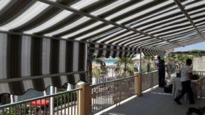 11 metri di tende a capanno - vista interna RIF: TS66