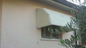 cappottina su misura per finestra RIF: TS40
