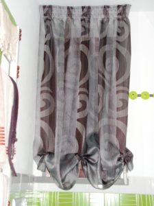 """tenda arricciata con effetto """"a pacchetto"""" <b>RIF: TC212</b>"""