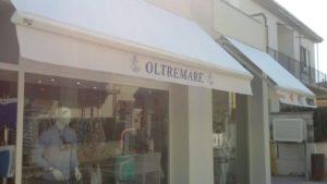 tende a bracci con logo del negozio <b>RIF: TS223</b>