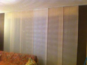 tende a pannello moderne per soggiorno <b>RIF: TC197</b>