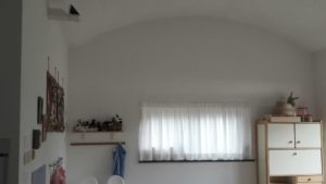 tende corte bianche per dormitorio asilo nido <b>RIF: TC75</b>