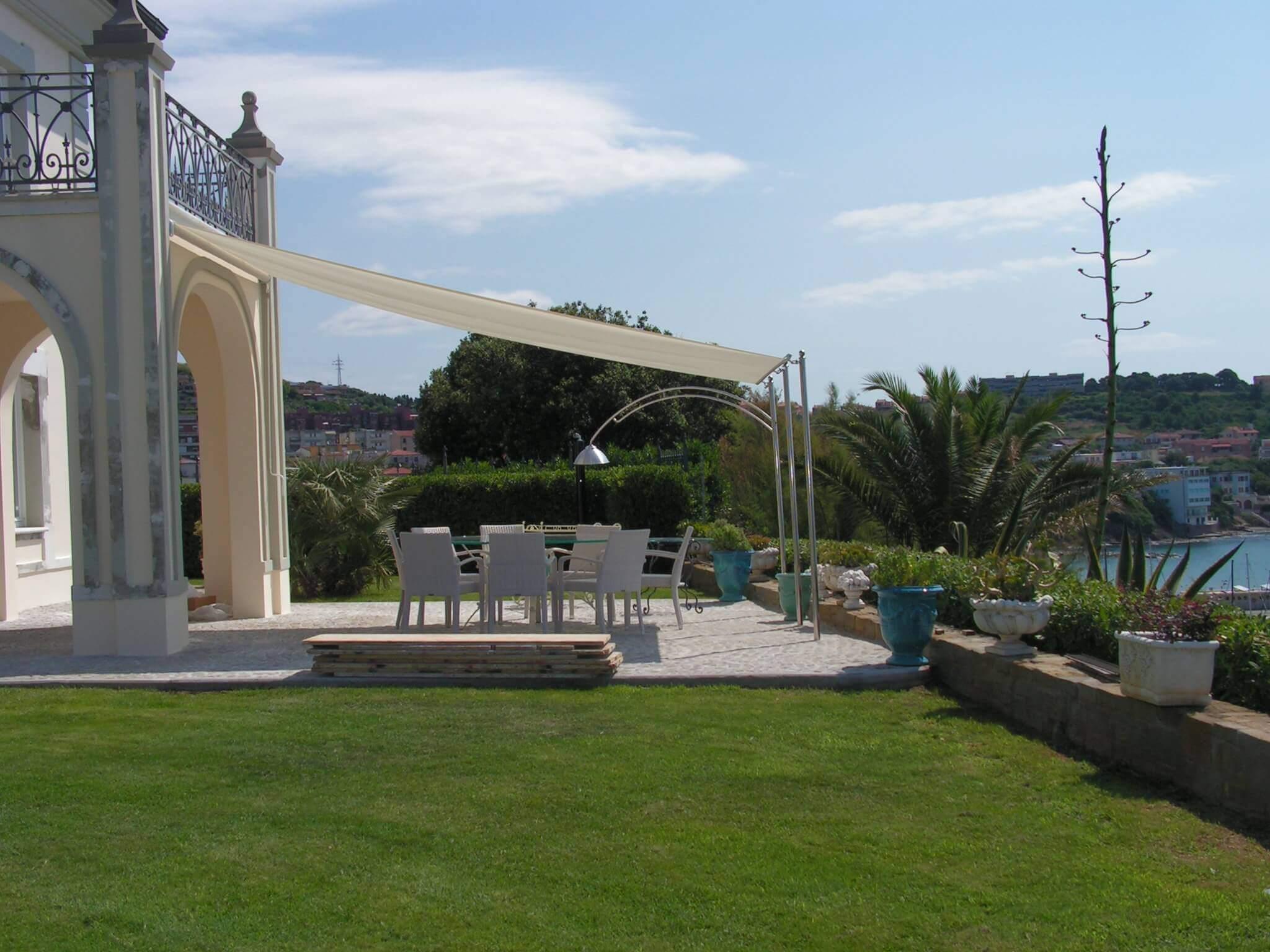 vele per copertura di veranda in villa <b>RIF: TS189</b>
