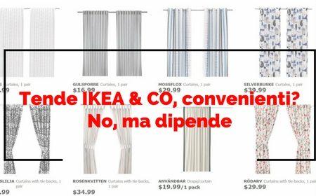 Come Si Montano Le Tende A Pannello Ikea.Tende Ikea Co Convenienti No Ma Dipende Gani