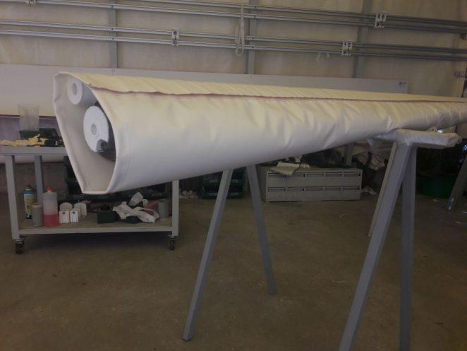 cuffia o sacca protettiva per tenda da sole