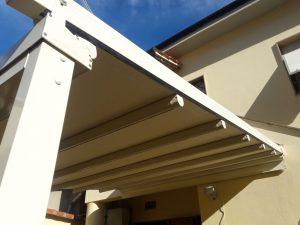 pergola per chiusura cortile interno RIF: SE77