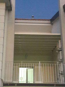 pergola per chiusura nicchia tra 2 appartamenti RIF: SE77