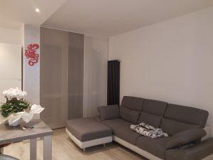 tende a pannelli a colori alternati per soggiorno <b>RIF: TC333</b>