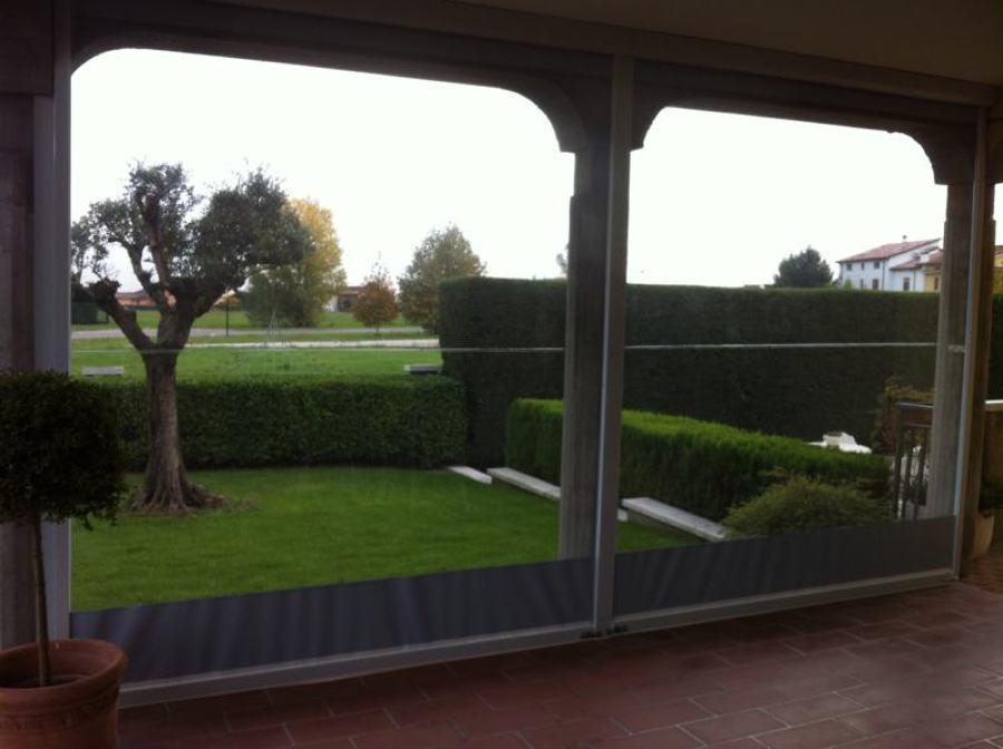 Tende Veranda Per Chiusure Invernali : Chiusure e tende antipioggia e antivento per l esterno gani