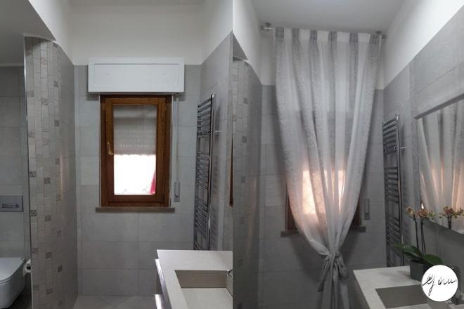 Tende per finestre del bagno i modelli più pratici e belli gani