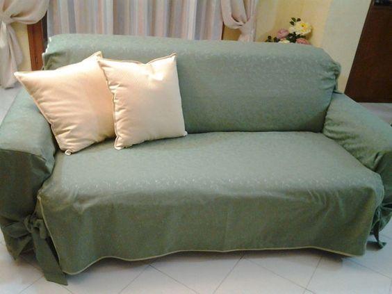 copri divano in cotone lavabile e cuscini