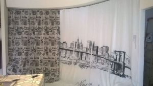 tenda stampa digitale tema city