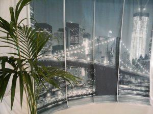 stoffa per interni con stampa digitale a tema city <b>RIF: TR66</b>