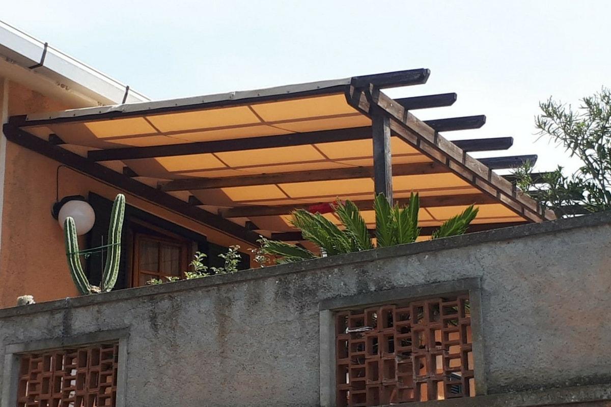 copertura per struttura da esterno