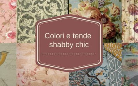 Colori, Tessuti e Tende Shabby Chic,<br> Gustavian Chic e Country Chic