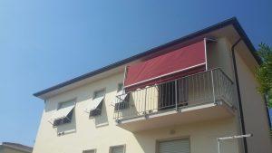 tenda a capanno su misura per terrazzino RIF: TS334