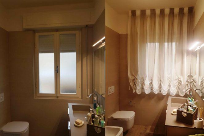 Tende per finestre del bagno i modelli pi pratici e belli gani - Tende per finestra del bagno ...