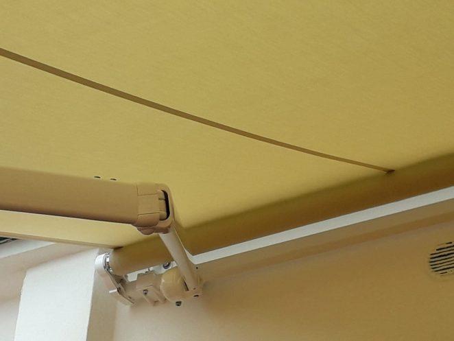 barra quadra in alluminio gani tende