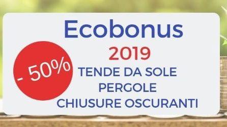 Detrazioni fiscali per schermature solari 2019 (Ecobonus 2019): come ottenerlo