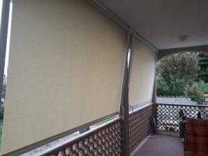 2 tende a caduta verticale senza cuciture in Toscana